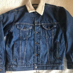 2/$100 Levi's signature Denim Sherpa Lined Jacket